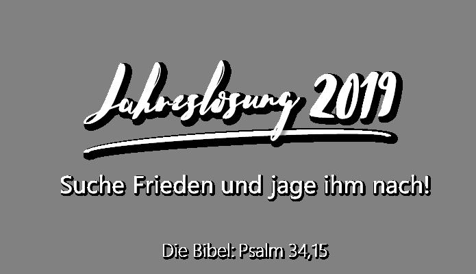 Losung - Jahreslosung - Evangelische Allianz Würzburg